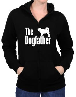 The dogfather Wetterhoun Zip Hoodie - Womens