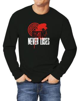 Agustino Never Loses Long-sleeve T-Shirt