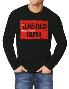 The World Revolves Around Talitha Long-sleeve T-Shirt
