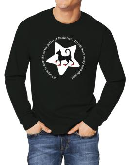 If I Want To Hear The Pitter-patter Of Little Feet ... Ill Put Shoes On My Euro Chausie Long-sleeve T-Shirt