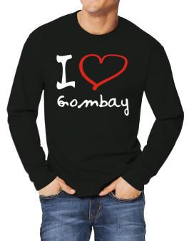I Love Gombay Long-sleeve T-Shirt