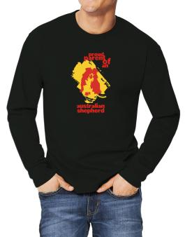 Proud Parent Of An Australian Shepherd Long-sleeve T-Shirt