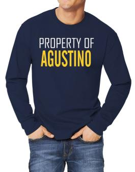 Property Of Agustino Long-sleeve T-Shirt