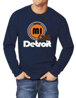 Detroit - State Long-sleeve T-Shirt
