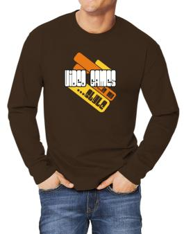 Video Games Is My Stle Long-sleeve T-Shirt