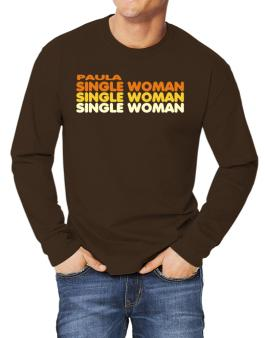 Paula Single Woman Long-sleeve T-Shirt