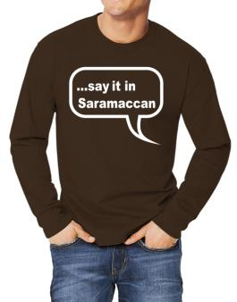 Say It In Saramaccan Long-sleeve T-Shirt