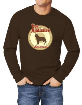 Dog Addiction : Belgian Malinois Long-sleeve T-Shirt