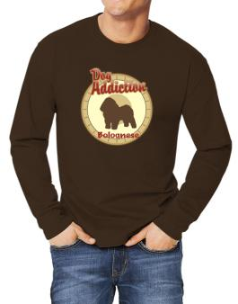 Dog Addiction : Bolognese Long-sleeve T-Shirt