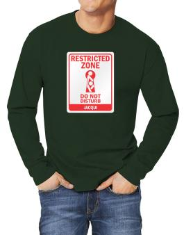 Restricted Zone - Do Not Disturb Jacqui Long-sleeve T-Shirt
