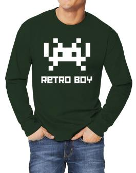 Retro Boy Long-sleeve T-Shirt
