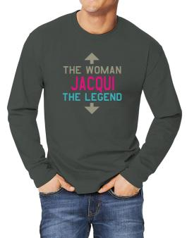 Jacqui - The Woman, The Legend Long-sleeve T-Shirt