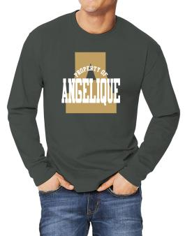 Property Of Angelique Long-sleeve T-Shirt