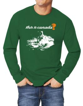 This Is Canada? - Astronaut Long-sleeve T-Shirt