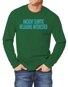 Ancient Semitic Religions Interested - Simple Long-sleeve T-Shirt