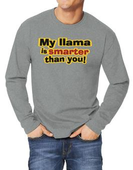 My Llama Is Smarter Than You! Long-sleeve T-Shirt