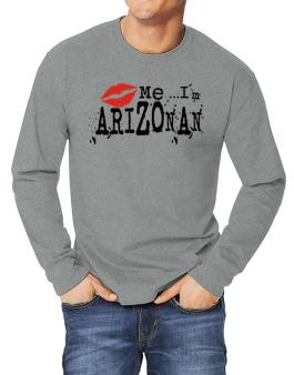 Kiss Me, Im Arizonan - Lips Long-sleeve T-Shirt