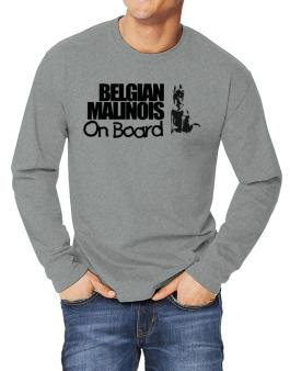 Belgian Malinois On Board Long-sleeve T-Shirt