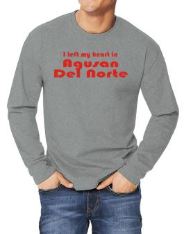 I Left My Heart In Agusan Del Norte Long-sleeve T-Shirt
