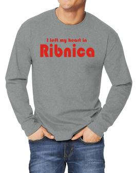 I Left My Heart In Ribnica Long-sleeve T-Shirt