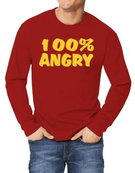 100% Angry Long-sleeve T-Shirt