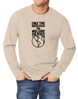 Only The Subcontrabass Tuba Will Save The World Long-sleeve T-Shirt
