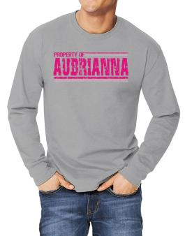 Property Of Aubrianna - Vintage Long-sleeve T-Shirt