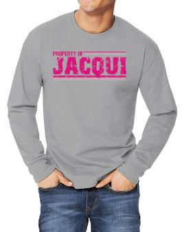 Property Of Jacqui - Vintage Long-sleeve T-Shirt