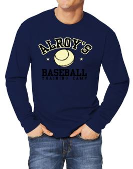 Alroys Baseball Training Camp Long-sleeve T-Shirt