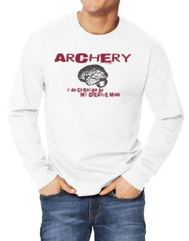 Archery Is An Extension Of My Creative Mind Long-sleeve T-Shirt