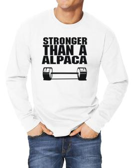 Stronger Than An Alpaca Long-sleeve T-Shirt