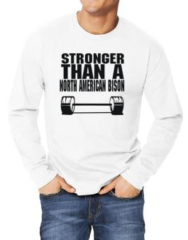 Stronger Than A North American Bison Long-sleeve T-Shirt
