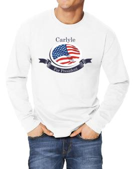 Carlyle For President Long-sleeve T-Shirt