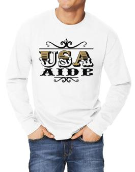 Usa Aide Long-sleeve T-Shirt