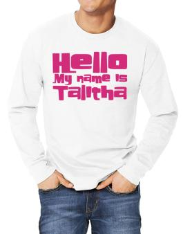 Hello My Name Is Talitha Long-sleeve T-Shirt