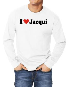 I Love Jacqui Long-sleeve T-Shirt