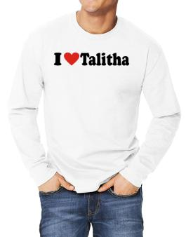 I Love Talitha Long-sleeve T-Shirt