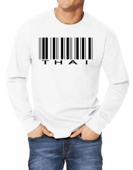 Thai Barcode Long-sleeve T-Shirt