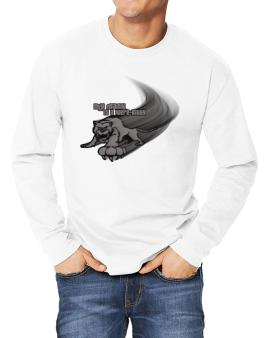 My Manx Is A Were-kitty Long-sleeve T-Shirt