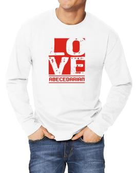 Love Abecedarian Long-sleeve T-Shirt