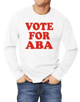 Vote For Aba Long-sleeve T-Shirt