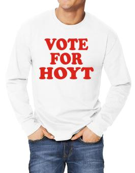 Vote For Hoyt Long-sleeve T-Shirt