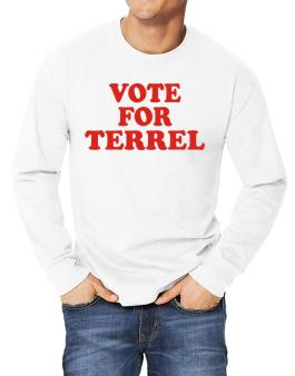 Vote For Terrel Long-sleeve T-Shirt