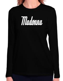 Madonna Long Sleeve T-Shirt-Womens