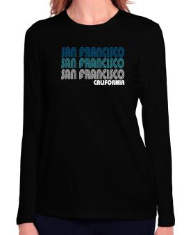 San Francisco State Long Sleeve T-Shirt-Womens