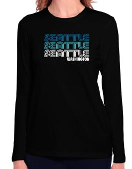 Seattle State Long Sleeve T-Shirt-Womens