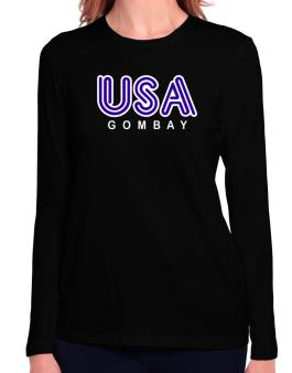 Usa Gombay Long Sleeve T-Shirt-Womens