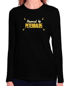 Powered By Peterbalds Long Sleeve T-Shirt-Womens