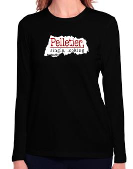 Pelletier, Singe, Looking Long Sleeve T-Shirt-Womens