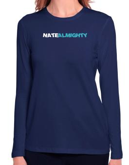Nate Almighty Long Sleeve T-Shirt-Womens